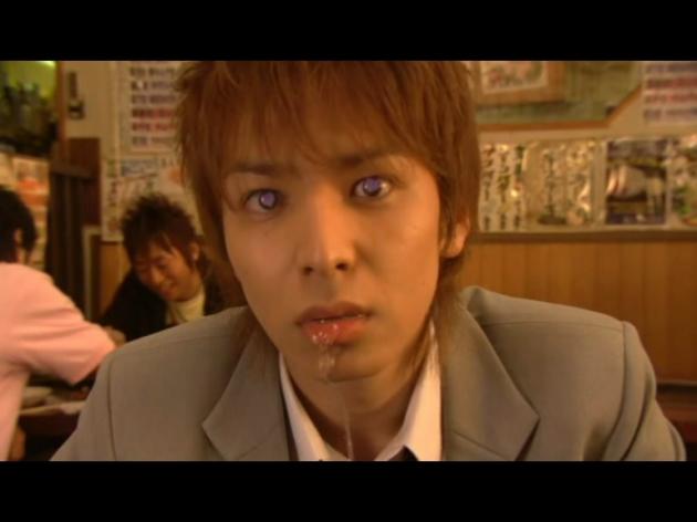 wajah Nakatsi yg lg kesengsem ma Mizuki (hihihihi)