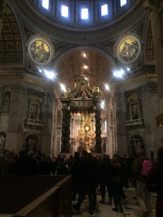 Altar di Basilika St. Peter (Vatikan)