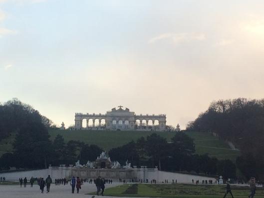 Taman di Schönbrunn Palace