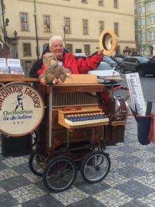 Pengamen di Praha