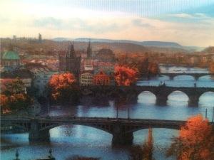 lukisan kota Praha