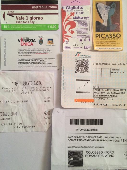 Tiket-tiket di Italia