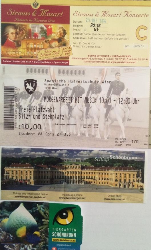 Tiket-tiket di Vienna
