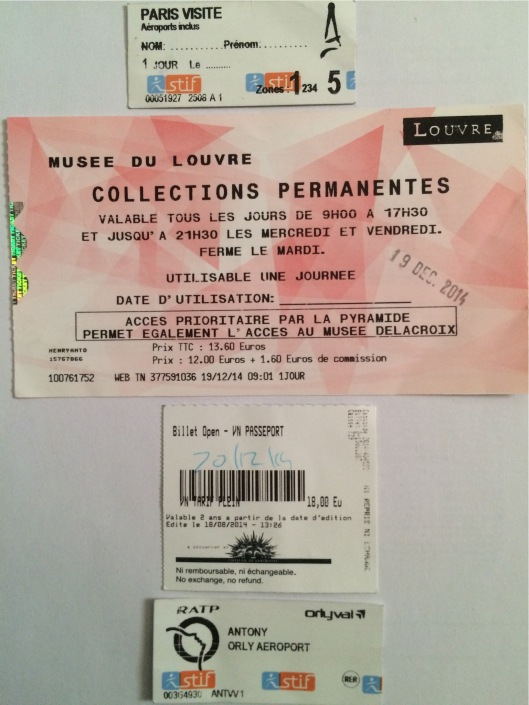 Tiket-tiket di Prancis
