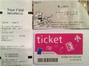 Tiket-tiket di Brussel